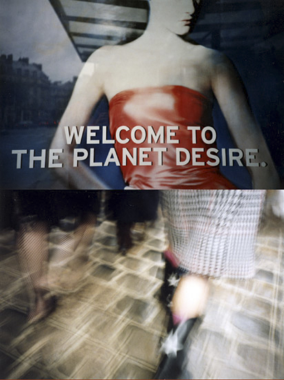 "Série 2.2 - ""welcome to the planet desire"""